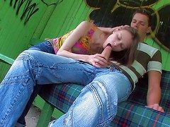 Beata is a naughty teen unsubtle who is coition hungry
