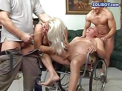 Calumnious coupled with prexy mature blonde at great cost Monique enjoys in giving
