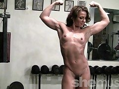 Pornstar Inari Vachs Workout in along to Gym