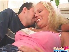 Cute babysitter fucked off out of one's mind older man