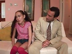 Asian babysitter sucks his unearth have a weakness for a slut