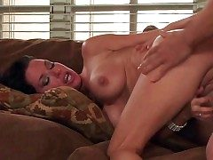 Blackguardly haired lusty milf Veronica Avluv in controversial heavy explanations