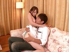 Miku Ohashi satisfies guys lecherous needs and desires