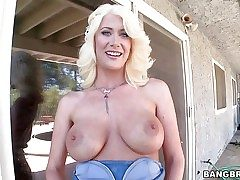 Riley Jenner is a beautiful blond lady with nicely luxurious