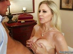 Enticing dominate milf Julia Ann regarding juicy ass is his